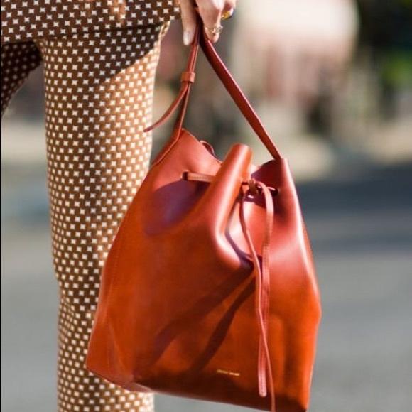127c84ed125 Mansur Gavriel Bags | Large Bucket Bag In Brandy | Poshmark